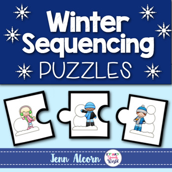 Winter Sequencing Puzzles for Speech and Language