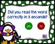 Winter Sight Words 300 PowerPoint Game