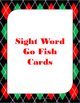 Winter Sight Words Set A