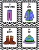 Winter / Snow Clothing Visual Schedule