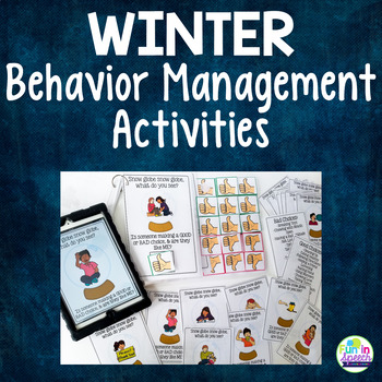 Winter Snow Globe Activities for Good and Bad Choices - Mu