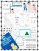 Winter Snow Preschool Math & Literacy Activities
