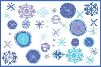 Winter Snowflake Clip Art | Winter | Snow | Winter Wonderl