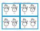Winter & Christmas Snowman Fractions-simple & no prep!