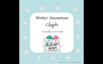 Winter Snowman Glyph