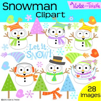 Winter Snowman Clipart Snowmen Clip Art Snow