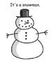 Winter Speech Therapy Printable Activities, Autism