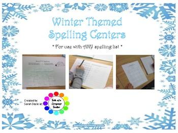 Winter Spelling Centers