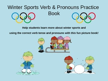 Winter Sports Verbs and Pronouns Practice
