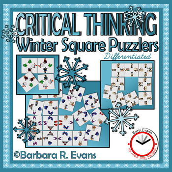 CRITICAL THINKING: Winter Square Puzzlers