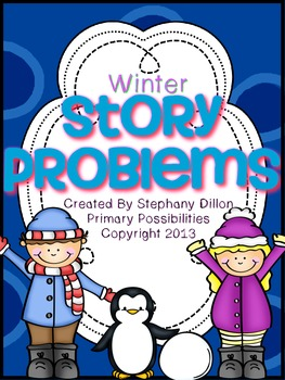 Winter Story Problem Printable Books