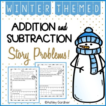 Winter Story Problems!