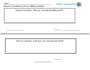 Winter Subtraction