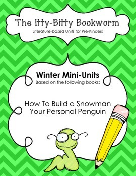 Winter Literature-based Units: How to Build a Snowman and