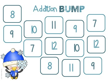 Winter Theme BUMP Games {4 Games}