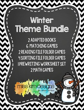 Winter Theme Bundle: 17 Winter Themed Products