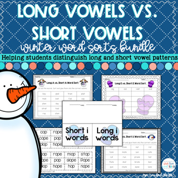 Winter Long Vowels Vs. Short Vowels