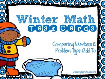 Winter Theme Math Task Cards