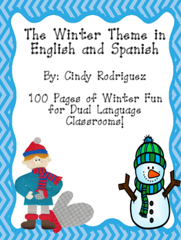 Winter Theme in English and Spanish