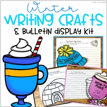 Winter Themed Bulletin Board Writing Crafts