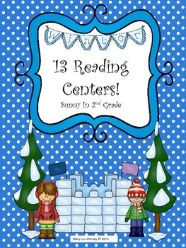 13 Reading Centers