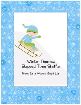Winter Themed Elapsed Time Shuffle