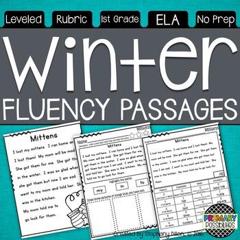 Winter Themed Fluency Passages