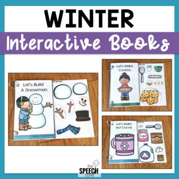 Winter Themed Interactive Book Bundle