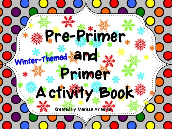 Winter-Themed Interactive Sight Word Activity Book