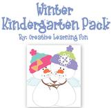Winter Themed Kindergarten Pack