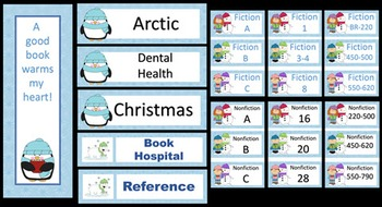 Winter Themed Library Printables