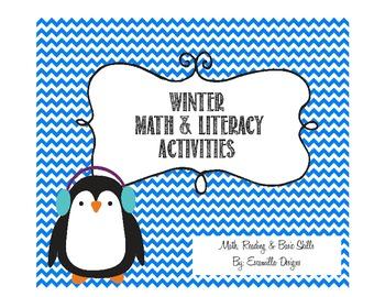 Winter Themed Math & Literacy Activities