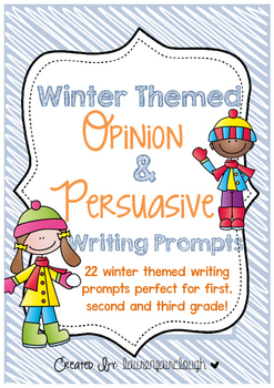 Winter Themed Opinion and Persuasive Writing Prompts