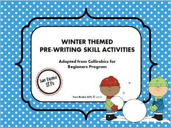 Winter Themed Pre-Writing Activities