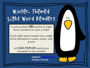 Winter-Themed Sight Word Readers!