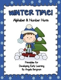Winter Time ~ Alphabet and Number Hunt Pack