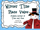 Winter Time Place Value Making Groups of Tens and Ones (Po
