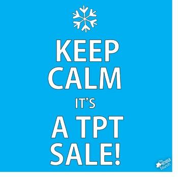 Winter TpT Sale Image {TpT Sellers}