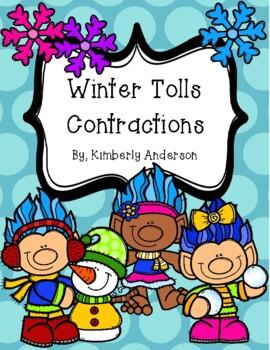 Winter Trolls Contractions Match