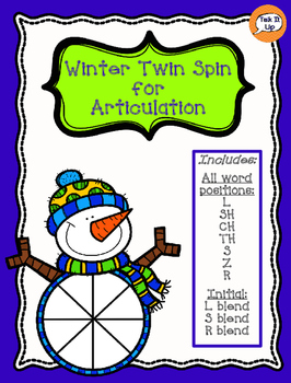 Winter Twin Spin for Articulation- Later Developing Sounds