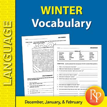 Winter: Vocabulary-Builder
