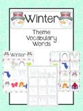 Winter Vocabulary Cards