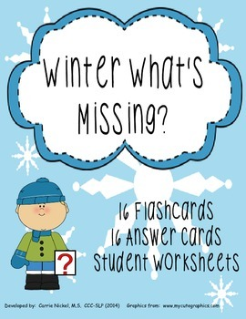 Winter What's Missing Inference Packet