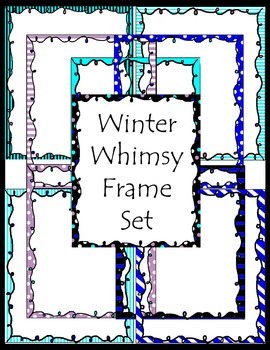 Winter Whimsy Frame Set