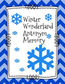 Winter Wonderland Antonym Memory