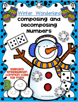 Winter Wonderland {Composing and Decomposing Numbers} Kind