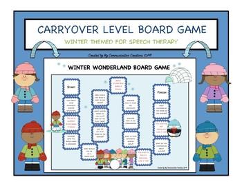 Winter Wonderland: Customizable Board Game - SLP - Articul