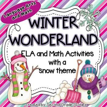 Winter Math and Language Arts Activities