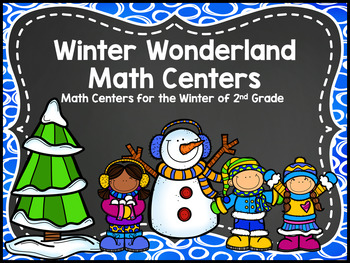Winter Wonderland Math Centers - Dec 2nd Grade