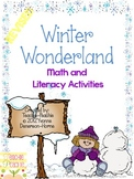 Winter Wonderland Math & Literacy Activities REVISED